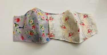【ポケット付き】立体マスクの作り方とポケットの使用方法【型紙付き】